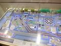 日立のスマートシティのモデル展示