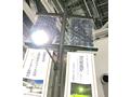 両面受光型太陽電池モジュールを使ったソーラー街路灯