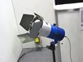 青色レーザダイオード照明の灯具部