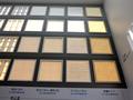 「LEDベースライトスクエアタイプ」の新製品4品種。6月から発売される。