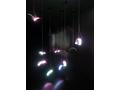 コニカミノルタのフレキシブル有機EL照明。