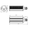横付け照明ケース内使用専用 コーンライト GKS38-01 シリーズ GKS38-60W-01 画像