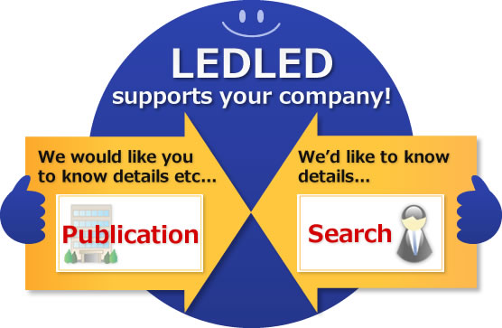 We would like you to know details etc...,We'd like to know details...,LEDLED supports your company!