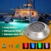 SUS316L 海水・淡水 水中・水上壁面実装型 18x3W(54W) 単色・RGB IP68 LF-ML54W316X 画像